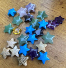 30 Stars And 3 Moon Mixed Pendant Bead Gemstone Crystals