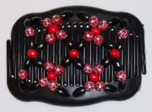 """Angel Wings Hair Clips 4x3.5"""", African Butterfly Style, Magic Combs, Quality S39"""