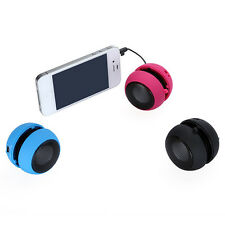Mini Portable Bass Travel Speaker for iPod Nano iPhone 3GS 4G 4S MP3 MP4 Players