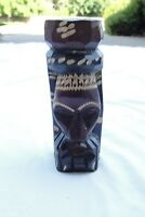 Hand Carved African Tribal Statue Ritual Tiki 8 Inches Nice Design And Detail