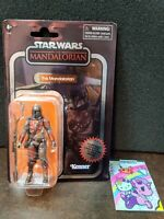 """🎯IN HAND🎯STAR WARS🎯MANDALORIAN CARBONIZED VINTAGE COLLECTION 3.75""""🎯WALMART🎯"""