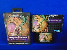 Sega Mega Drive DUNGEONS AND DRAGONS Warriors of the Eternal Sun COMPLETE PAL