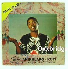 FEMI KUTI The Positive Force AFRO Jazz Funk MYOB Nigeria KALAKUTA 1991 Mind Your
