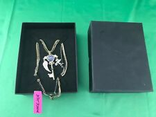 Key Angel Wing Chain Betsey Johnson Necklace w