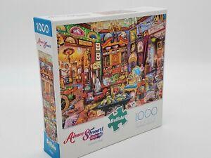 Jigsaw Puzzle 1000 pc Buffalo Games Curiosity Shop Aimee Stewart antique vintage