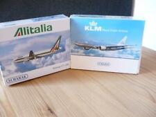 Schabak- 2 x Boeing  777 - 200 - Alitalia + KLM / 1:600 / neu