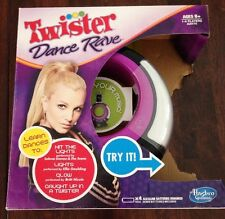 NEW Twister Dance Rave Music Game By Hasbro Black & Purple
