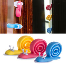 3pcs Door Guard Stop Baby Toddler Safety Jammer Anti Pinch Finger Snail