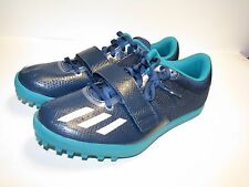 Adidas Jumpstar Running Track Shoes Navy/White/Green S42048 US SZ 9-New