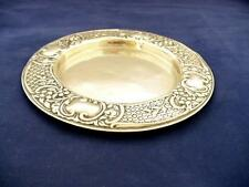Antique Magnum Of Champagne - Silver Plate Coaster - Potters Of Sheffield