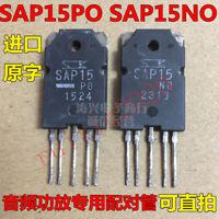 2 Pulled (USED) SanKen SAP15. Po 0321 Transistors. Tested w/ Curve Tracer.