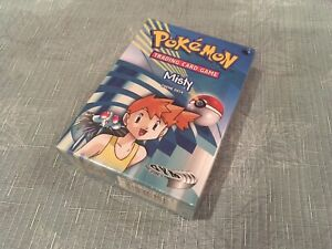 NEW Factory Sealed Pokemon Gym Heroes MISTY Theme Deck