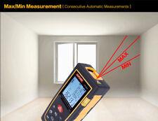 Digital Laser Point Distance Meter Measure Handheld Tape Range Finder 60m 100m