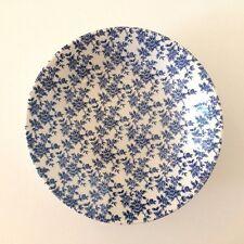1 Broadhurst Ironstone Blue & White Floral Elizabeth Soup Pasta Bowl 19.4cms