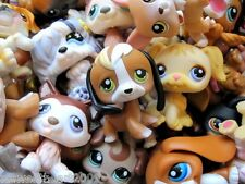 Littlest Pet Shop LPS 3 DOGS Lot Random Surprise Gift Grab Bag Puppy EUC Set