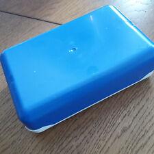 Brotdose blau weiss