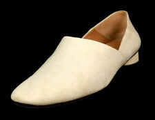 THE ROW $820 Moon Ivory Suede Convertible NOELLE Flats Mules Loafers 39