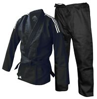 Sale Adidas Rookie BJJ Gi A4 Adult Jiu Jitsu Suit Black Mens Ladies Uniform