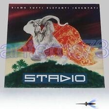 """STADIO """"SIAMO TUTTI ELEFANTI"""" RARO LP 1991 - SIGILLATO"""