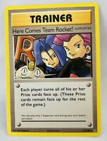 Authentic Here Comes Team Rocket! Trainer Pokemon Card New