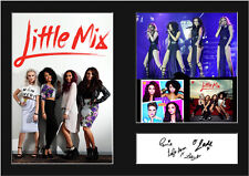 LITTLE MIX #1 Signed Photo Print A4 Mounted Photo Print - FREE DELIVERY