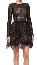 BRAND NEW ALEXIS MALIN BLACK LACE COCKTAIL EVENING PARTY DRESS SMALL S NWT