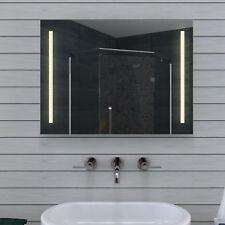 LED Licht Wand Badspiegel Badezimmerspiegel in Kalt & Warmweiß  MT60-80DP