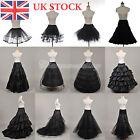 White/Black Petticoat Slip Wedding Prom Underskirt Hoop Hoopless Crinoline Skirt