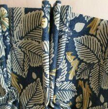 Single John Lewis MTM Morris & Co Bramble Blackout Lined Triple Pinch Curtain