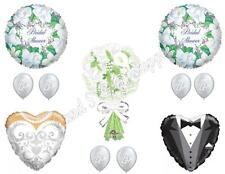 Wedding Bridal Bouquet Shower Balloons Decoration Supplies Calla Flowers Gown