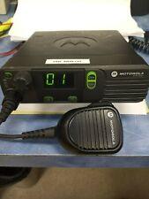 MOTOROLA XPR4350 40 WATT UHF MOBILE, ANALOG, BRACKET AND MIC - REFURBISHED