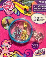 My Little Pony Princess Luna, Rarity, & Applejack Charmlings Charm Bracelet!