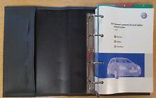 GENUINE VW GOLF HANDBOOK OWNERS MANUAL WALLET 2004-2008 PACK D-465