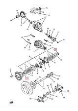 GENUINE ISUZU 8-94453935-0 Side Gear Thrust Washer - Limited Slip Differential