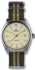 Reloj Hombre Mondia Campus MI728-2CT de Tela/ cuero Verde