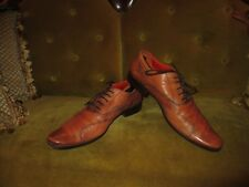 MARK NASON TAN LEATHER LOAFERS MENS SIZE 8.5D MADE IN ITALY