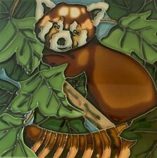Red Panda  Decorative Ceramic Wall Art Tile 8x8 New