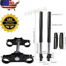 45/48cm Upside Down Front Fork Shock Leg Triple Tree for Honda CRF50 Yamaha ATV