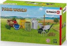SCHLEICH®  Farm World 42301   Fütterung der Bauernhoftiere, NEU & OVP