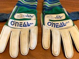 Vintage O'Neal USA Racing Ultra-Lite Motocross Gloves