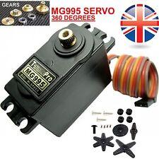MG995 Servo 360 grados de rotación continua 10KG Robotics RC Servo de Metal
