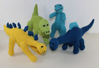 PRINTED KNITTING INSTRUCTIONS - TOY DINOSAUR COLLECTION ANIMAL KNITTING PATTERN