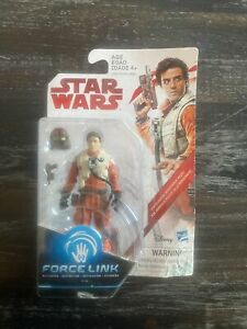 Hasbro Star Wars Poe Dameron (Resistance Pilot) Force Link Action Figure