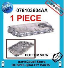 ENGINE OIL PAN;  VW PASSAT, AUDI A4 A6 ALLROAD S4; OIL PAN Oil Level Sensor hole