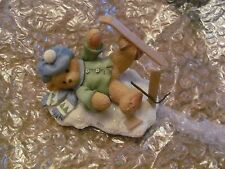lot of 12 Cherished Teddies by Enesco Christmas Holiday set Minty