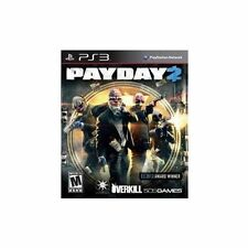 PAYDAY 2 PS3 ADVENT NEW VIDEO GAME