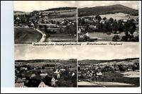 STEINIGTWOLMSDORF Mehrbild-AK 1972 mit 4 s/w Echtfoto Ortsansichten gelaufen