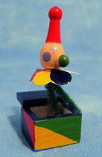1:12 Scale Casa de muñecas en miniatura de madera Jack En La Caja De Juguete Accesorio