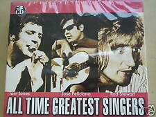 ALL TIME GREATEST SINGERS TOM JONES ROD STEWART CD 5336