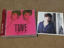 Tohoshinki TVXQ - TONE - Red Version CD+DVD With Changmin Photocard
